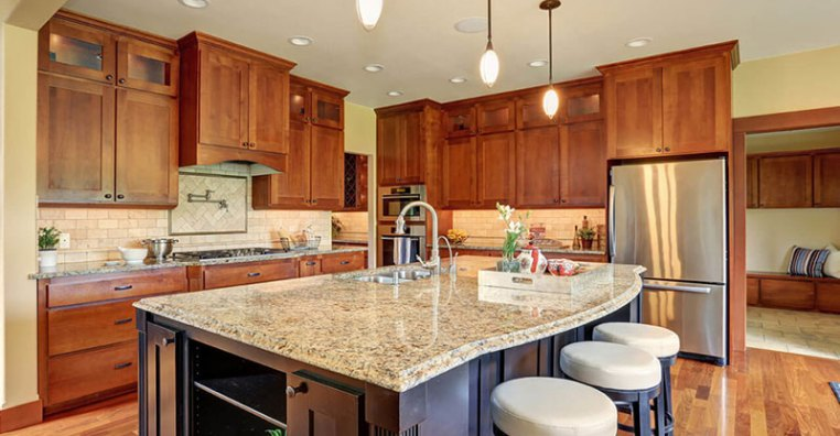 New Venetian Gold Granite Countertops - Elegance Gold Granite