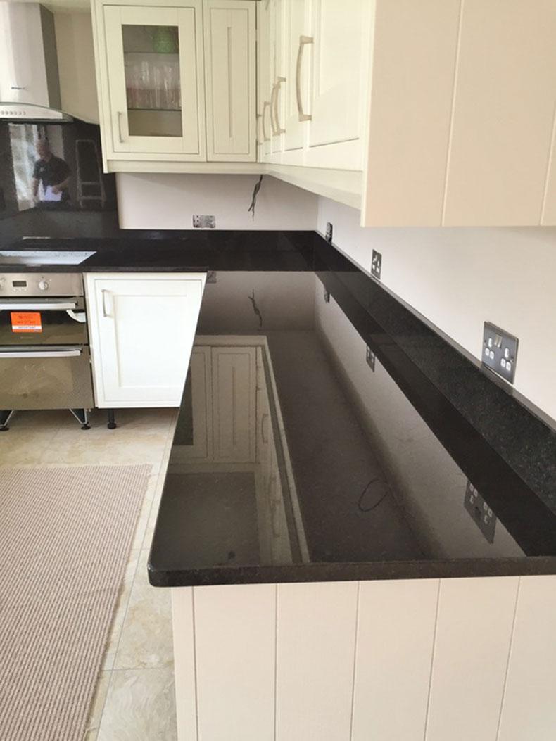Exceptionnel New Black Pearl Granite Countertops