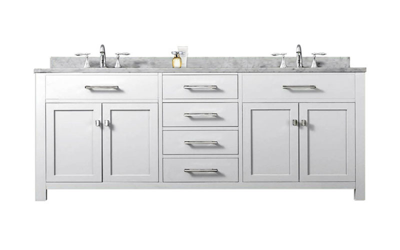 72 Double Bathroom Vanity Set
