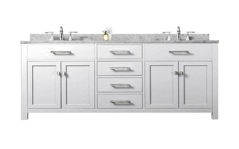 72 Double Bathroom Vanity Set