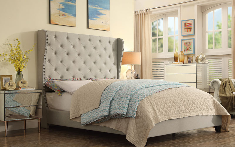 Ophelia Upholstered Panel Beds