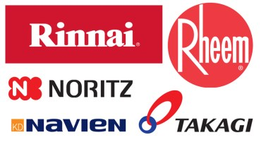 Tankless Water Heater Comparison - Rinnai vs. Navien vs Rheem vs. Noritz vs. Takagi