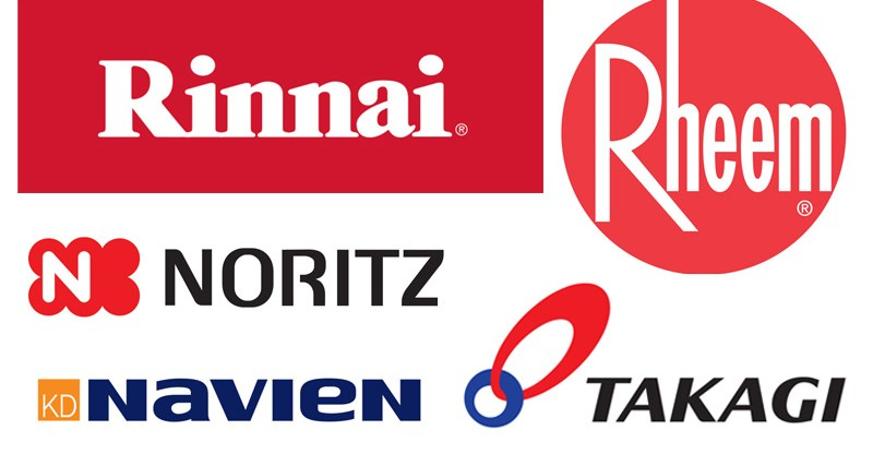 Tankless Water Heater Comparison - Rinnai vs. Navien vs Rheem vs. Noritz vs. Takagi