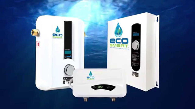 ecosmart tankless water heater reviews (electric & gas) - homeluf