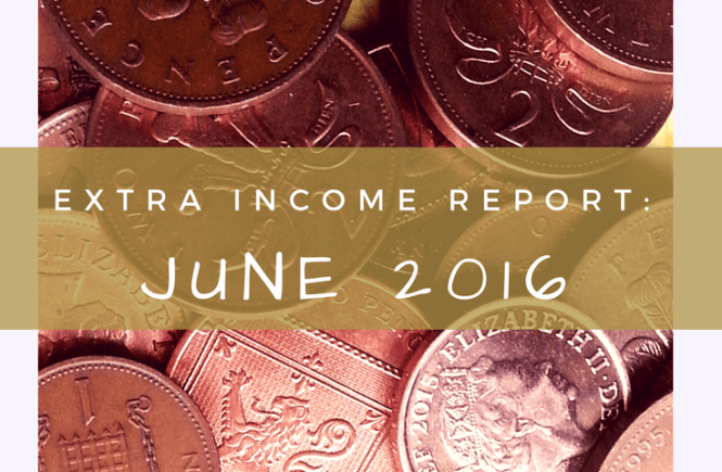 My extra income report for June 2016. See what we've made on the side this month.