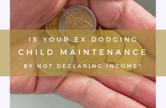 Is your former partner not declaring income in order to avoid paying child maintenance? One of the things you must do is write to the minister responsible for the Child Maintenance Service. Find out more here.