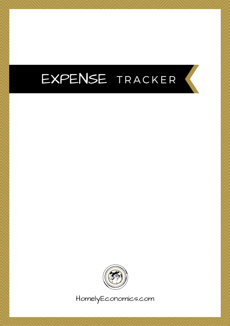 Get your free printable expense tracker!