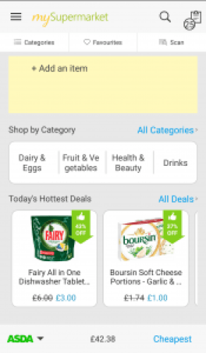 My Supermarket app reviewed by Homely Economics