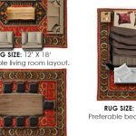 Standard Rug Sizes Guide Chart Common Comparisons Homely Rugs