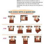 What Size Rug For A Queen Bed Chart Layout Designs Homely Rugs