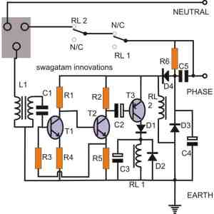 2 Simple Earth Leakage Circuit Breaker (ELCB) Explained   Homemade Circuit Projects