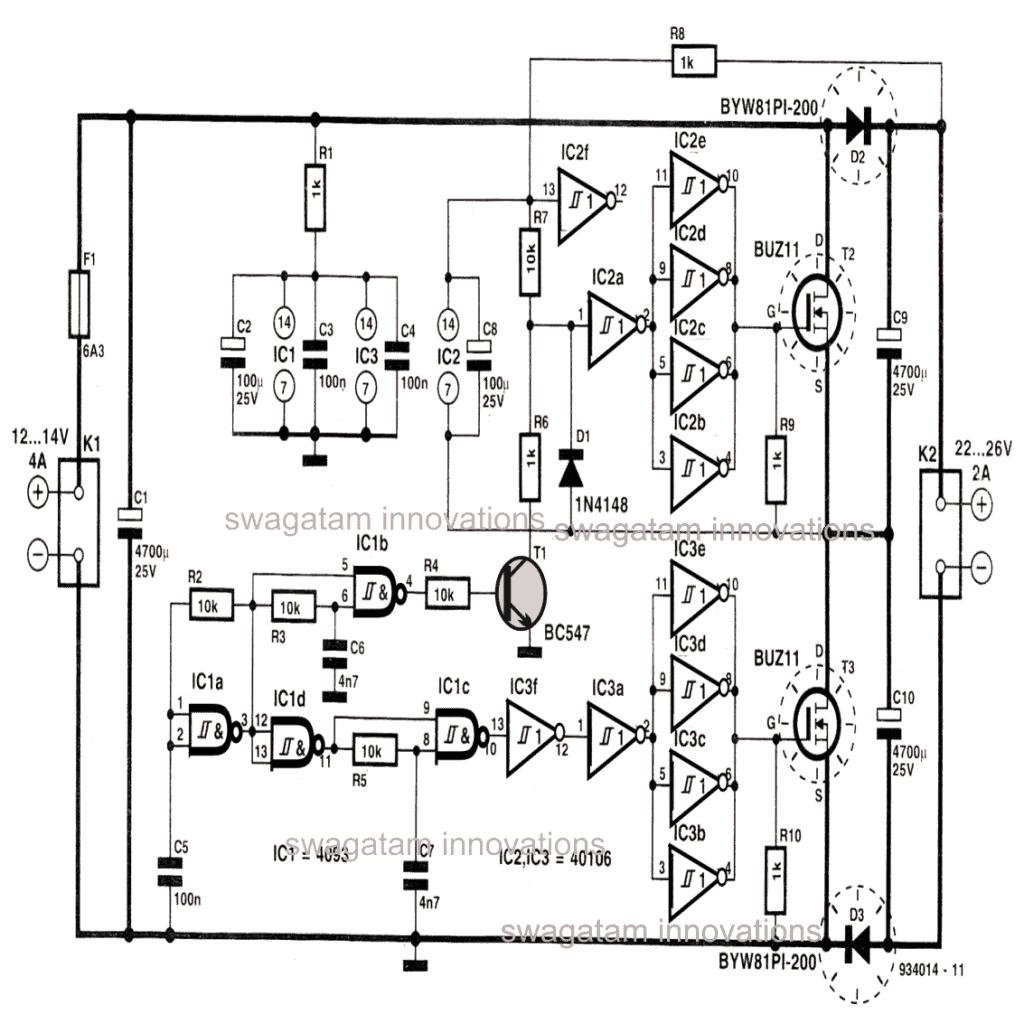 High Current Voltage Doubler Circuit