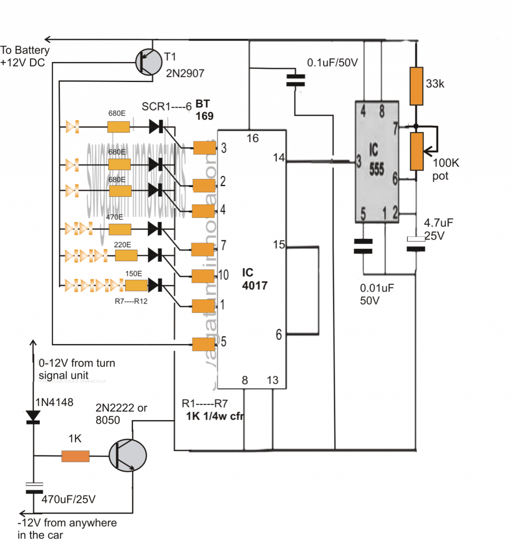 Rope Led Light Circuit Diagram