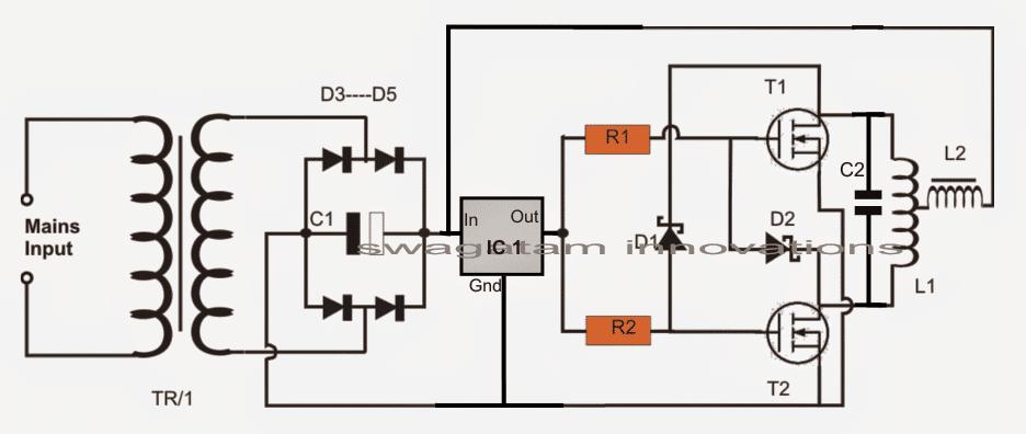 Royer Oscillator Induction Heater