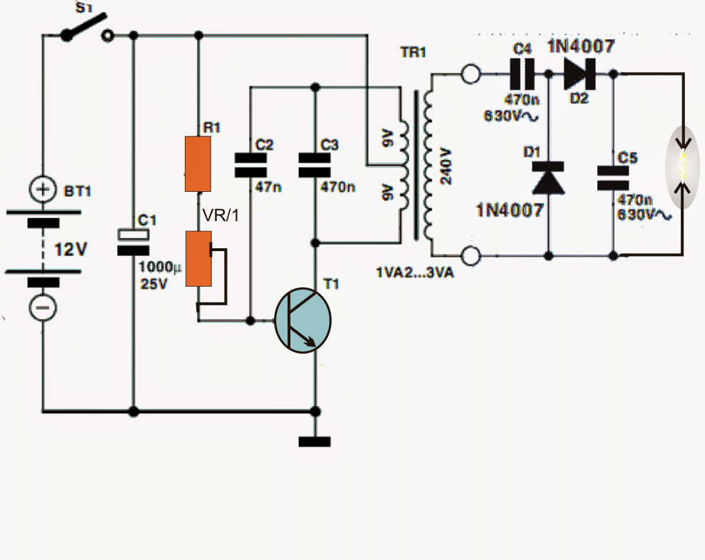 0 To 50V, 0 To10amp Variable Dual Power Supply Circuit