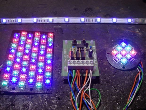 Simple RGB LED Controller Circuit