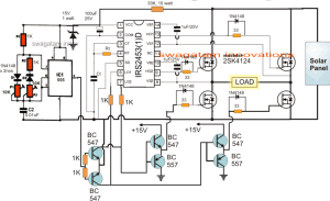 Solar Inverter Circuit for 15 Ton Air Conditioner