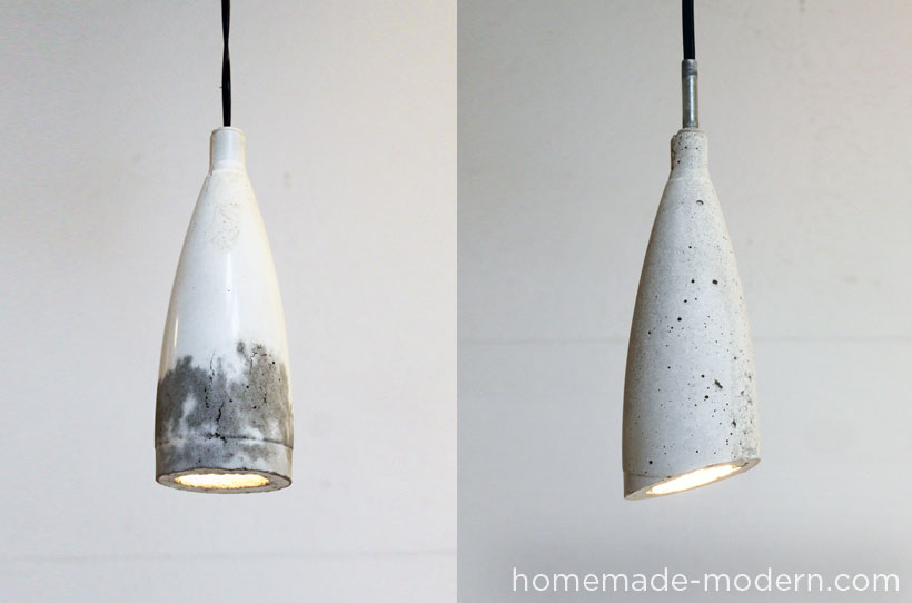 HomeMade Modern DIY EP9 Concrete Pendant Lamp Options