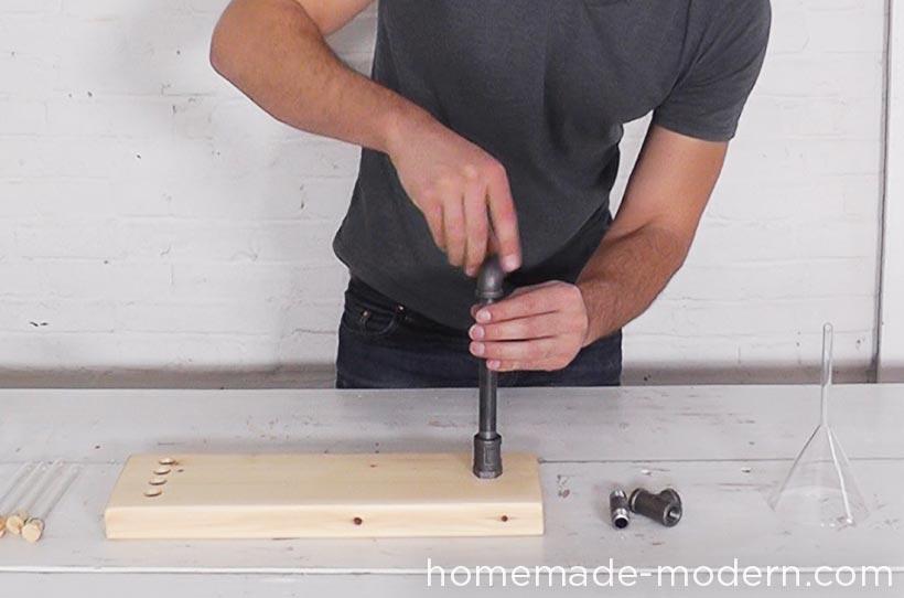 HomeMade Modern DIY EP54 Pipe Coffee Maker Step 8