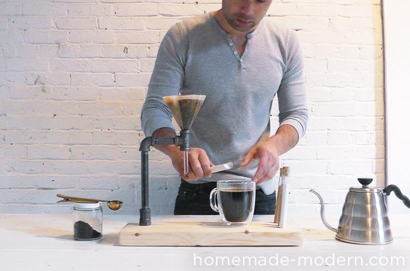 HomeMade Modern DIY EP54 Pipe Coffee Maker Step 9