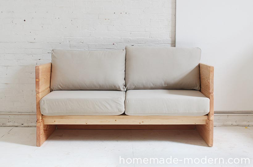 HomeMade Modern EP66 Box Sofa