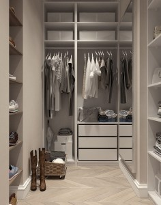 closet, visualization, interior design