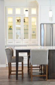 kitchen, cabinet, counter