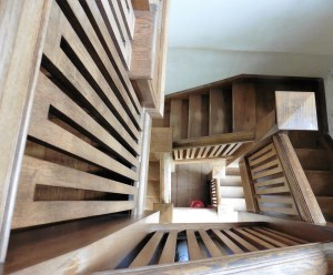 wooden steps, stairs, architecture