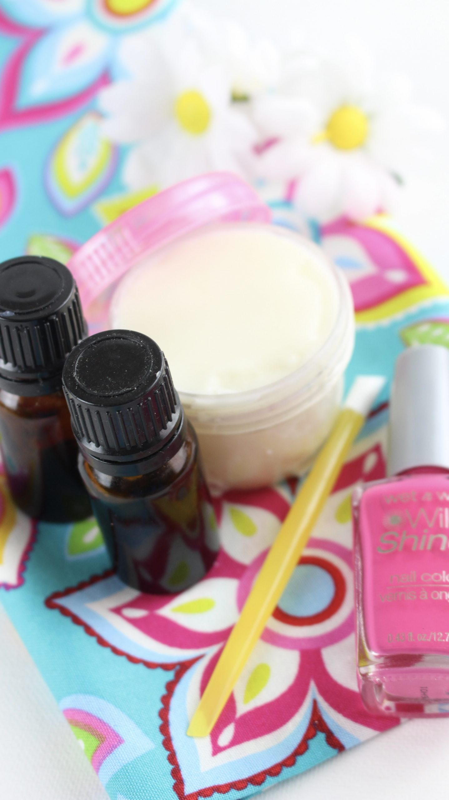DIY Cuticle Cream with Essential Oils and Nail Tools