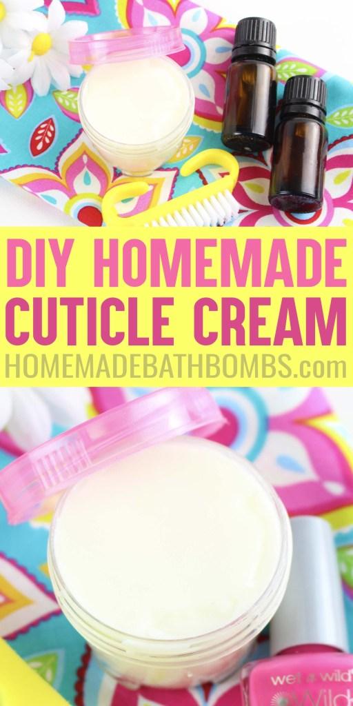 Homemade DIY Cuticle Cream Recipe