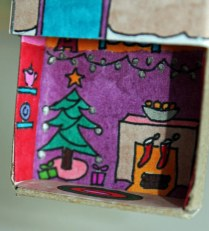 Winter Matchbox House
