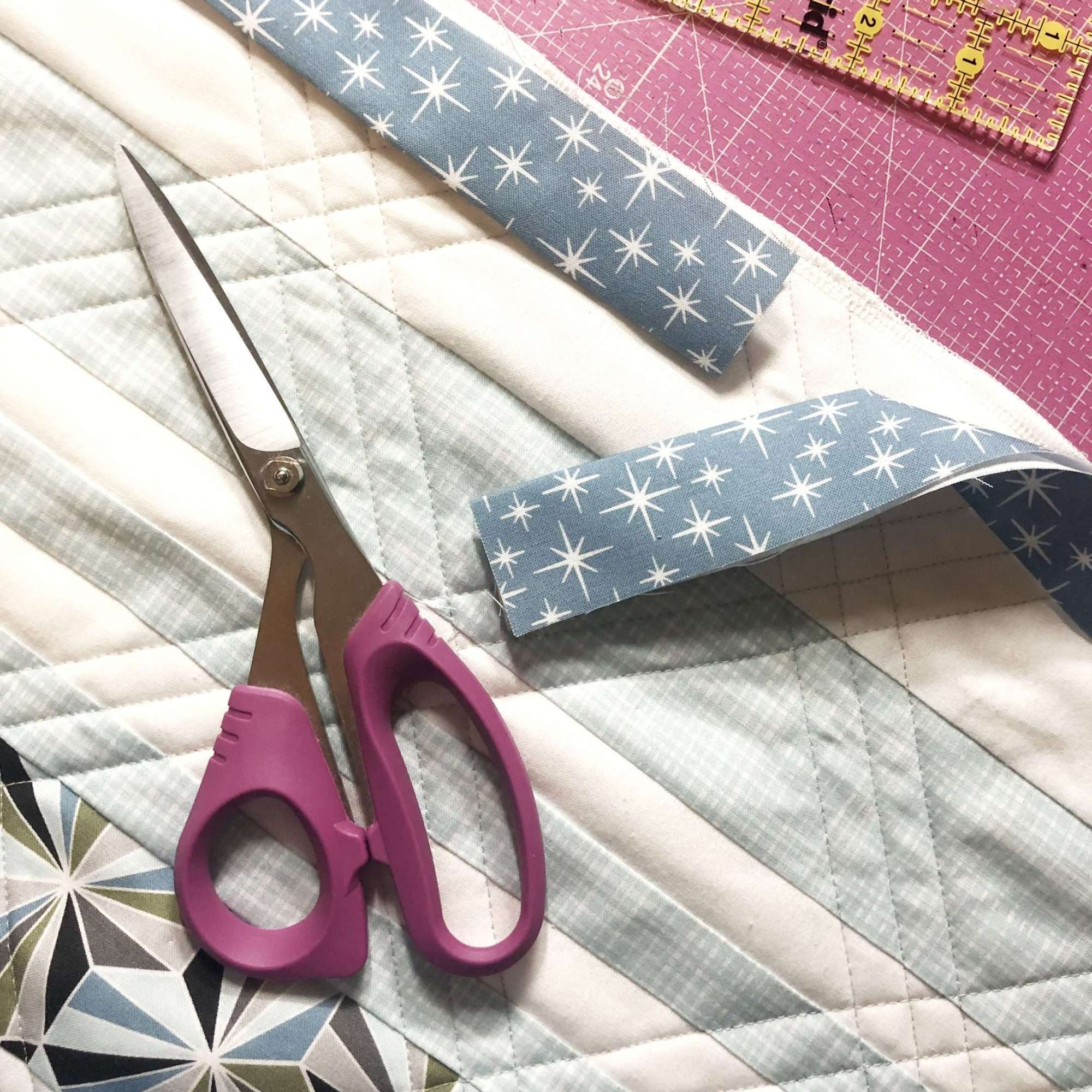 Joining the Ends of your quilt binding