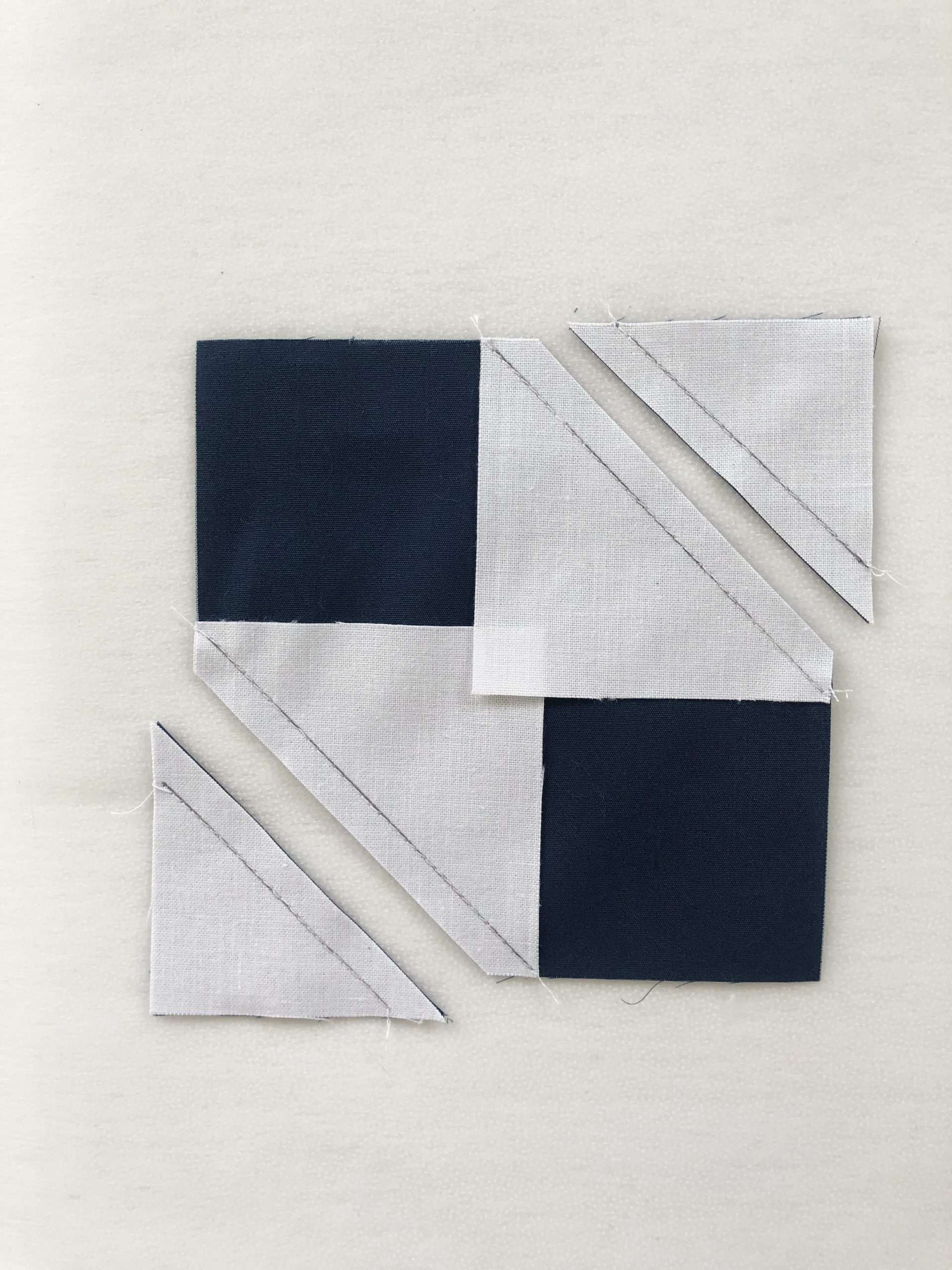 How to do No-Waste Stitch and Flip Quilt Blocks