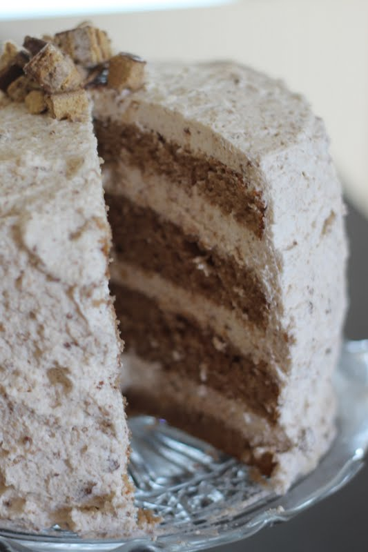 Epic Coffee Crisp Cake