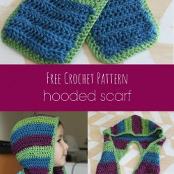 Hooded Scarf Crochet Pattern