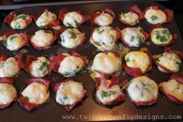 Bacon & Egg Breakfast Bites