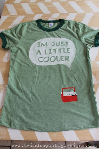 I'm Just a Little Cooler Camping T-shirt