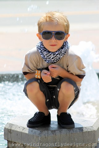 Infinity Scarf for Boys ~ What We Wore Wednesday