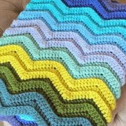 Seafarer Crochet Blanket #projectcrochet