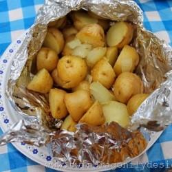 Tin Foil Packet Potatoes
