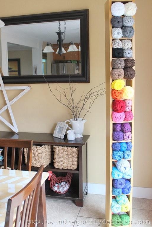 Simple Yarn Storage Solution