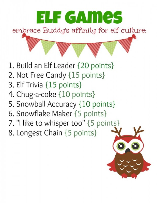 Elf Holiday Party Ideas