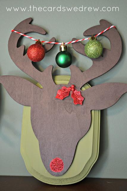 Reindeer Wall Plaque