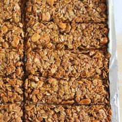 Crunchy Granola Bar Recipe