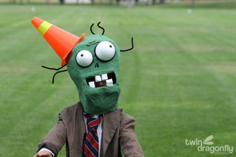 Plants vs Zombies Costume – Cone Head Zombie