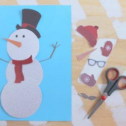 Snowman Making Printable
