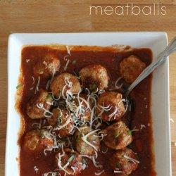 Low Carb Turkey Meatballs