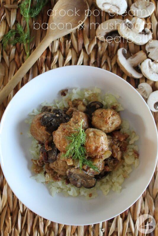 crockpot mushroom meatball recipe