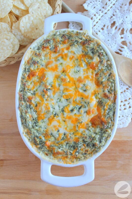 baked spinach dip recipe