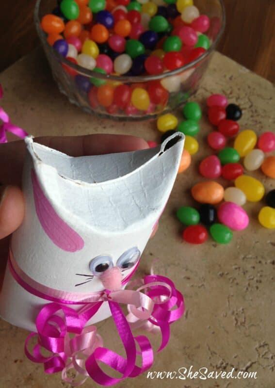 tp roll bunny craft